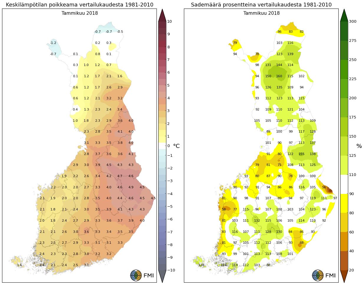 joulu 2018 lämpötila Tammikuun 2018 kuukausikatsaus | joulu 2018 lämpötila