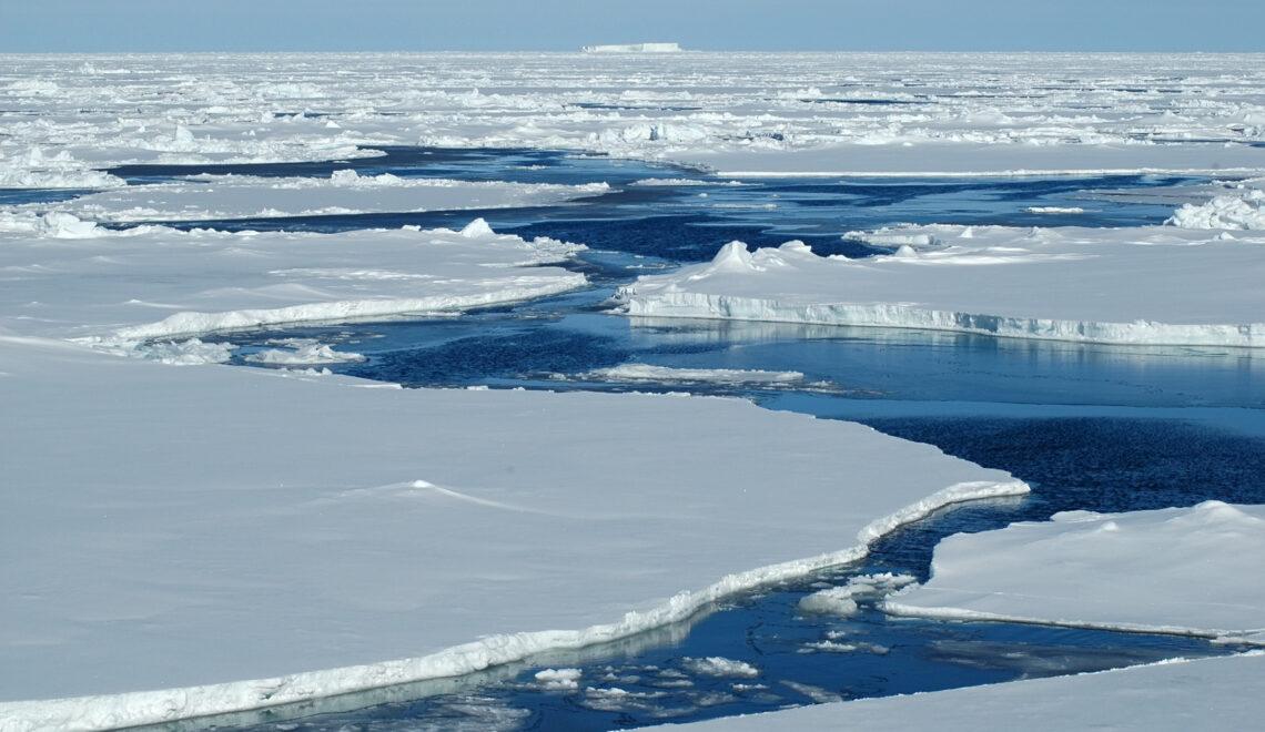 Merijää vähenee Jäämerellä